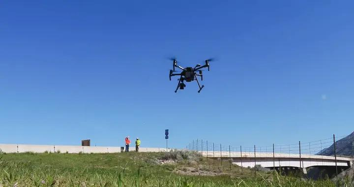 无人机和数字模型让大型基础设施检修更安全、更准确