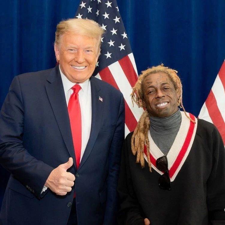 Lil Wayne给特朗普的感谢信来了
