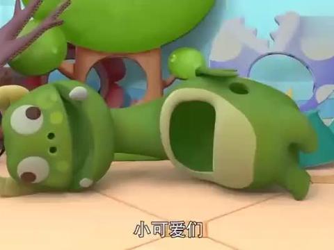百变校巴:逗逗是主角,他赶时间排练,吃饭也太快了吧!