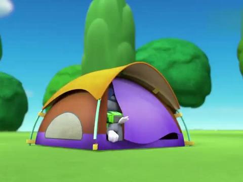 汪汪队立大功:大家开心野营,齐心协力搭帐篷,会发生什么趣事呢