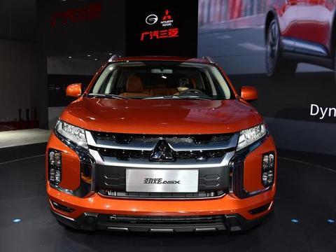 10万级三菱SUV来袭,分体大灯+1.6动力,新款劲炫比缤智还帅气!
