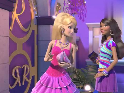 芭比之梦想豪宅:心机婊套路朋友,自己穿得美如仙,告朋友随意穿