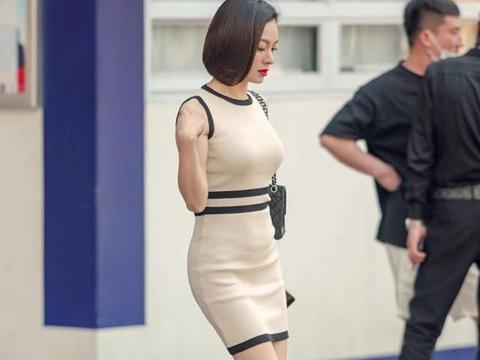 修身又利落的短裙穿搭,塑形又显气质,时尚女生都喜欢