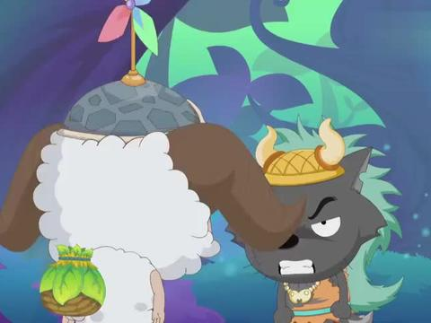 喜羊羊:荷花好感动,老爸可真好,生日他没有忘记