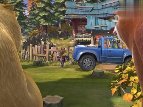 熊出没:强哥你真不讲究,人家动物们种的棉花,你为啥偷呢
