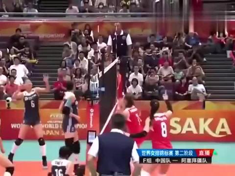 龚翔宇小宇宙爆发自己接一传后自己扣球得分