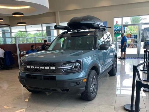 硬派外观的城市SUV 海外实拍福特Bronco Sport