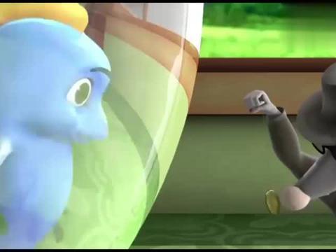 跳跳鱼世界:老鼠偷东西,还催眠跳跳鱼,看跳跳鱼怎么治他!