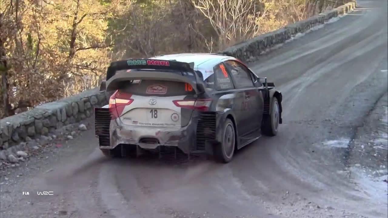 📹 WRC蒙特卡洛站SS14赛段(加分赛段)集锦 I 官方出品