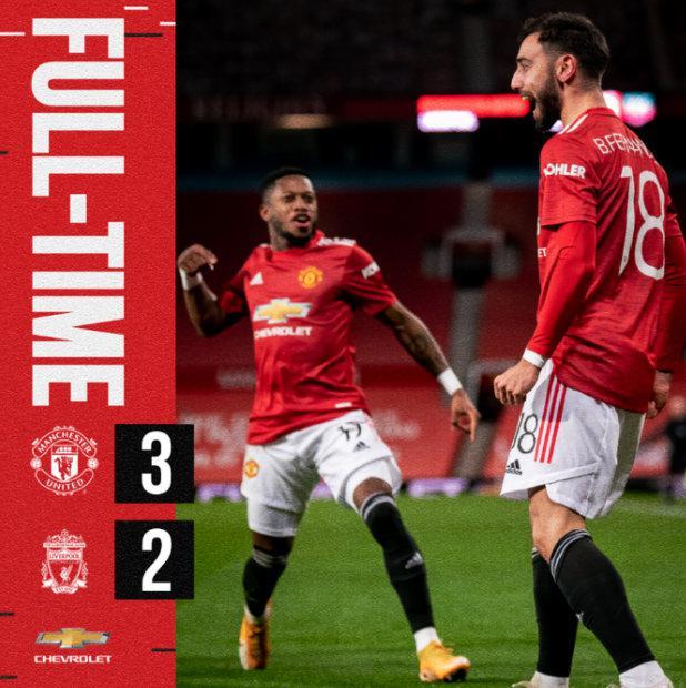 足总杯第4轮进行一场焦点之战,曼联3-2击败利物浦晋级下一轮……