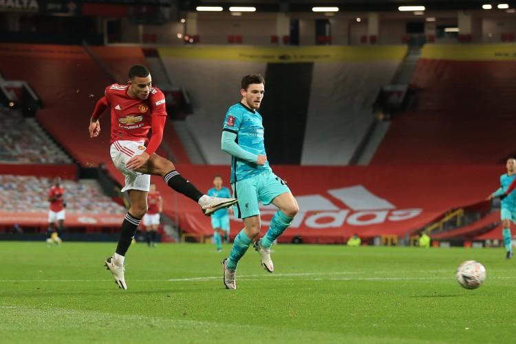 半场-萨拉赫破门格林伍德扳平 曼联暂1-1利物浦