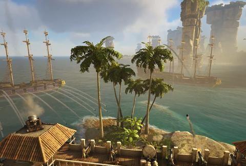 最新Steam沙盒游戏排行,《ATLAS》主播和伙伴反击老外