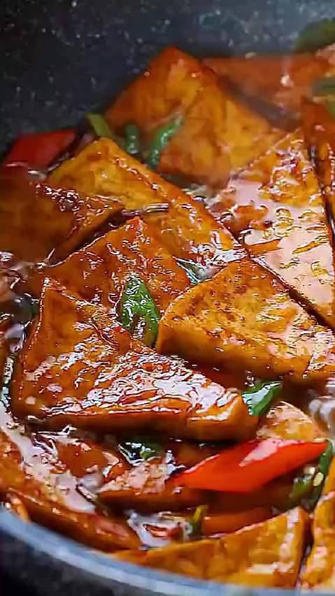 家常素烧豆腐