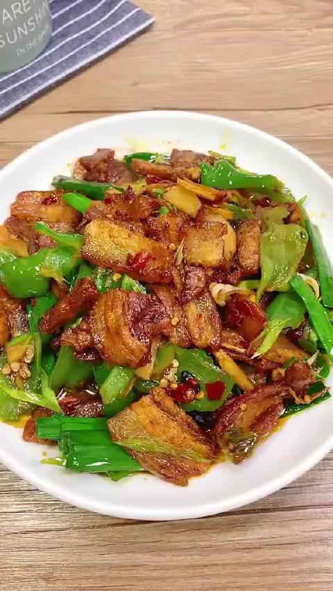 青椒回锅肉做法