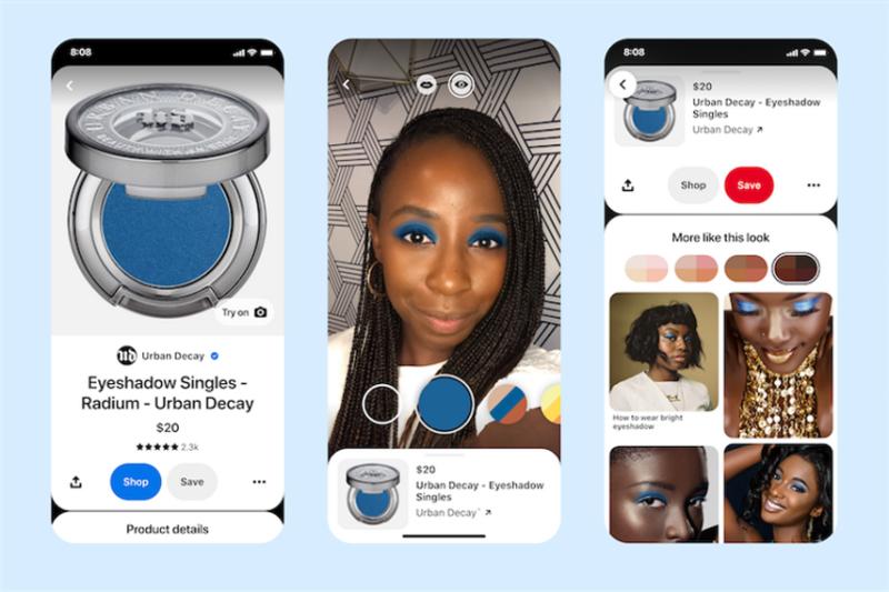 Pinterest副总裁:新目标是利用AR提升电商购物体验