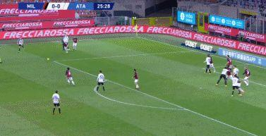 意甲-伊利契奇点球 米兰0-3亚特兰大仍夺半程冠军