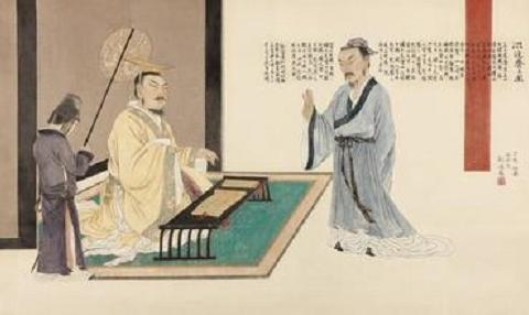汉武帝可以坐马桶见卫青,见此人却要穿戴整齐
