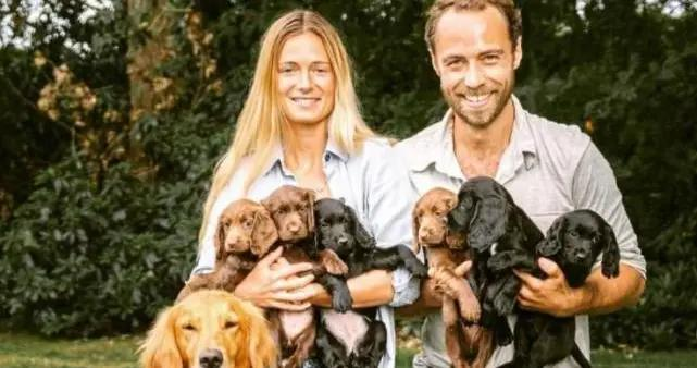 凯特威廉的新宠物,卢波去世的另一只小狗,与卢波有亲缘关系