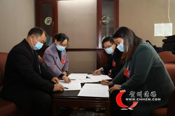 贺州市代表团共提交各类建议40条