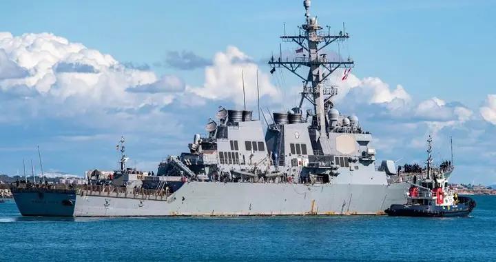 美国驱逐舰再闯黑海,俄罗斯大批战斗机围观,模拟攻击树立了榜样