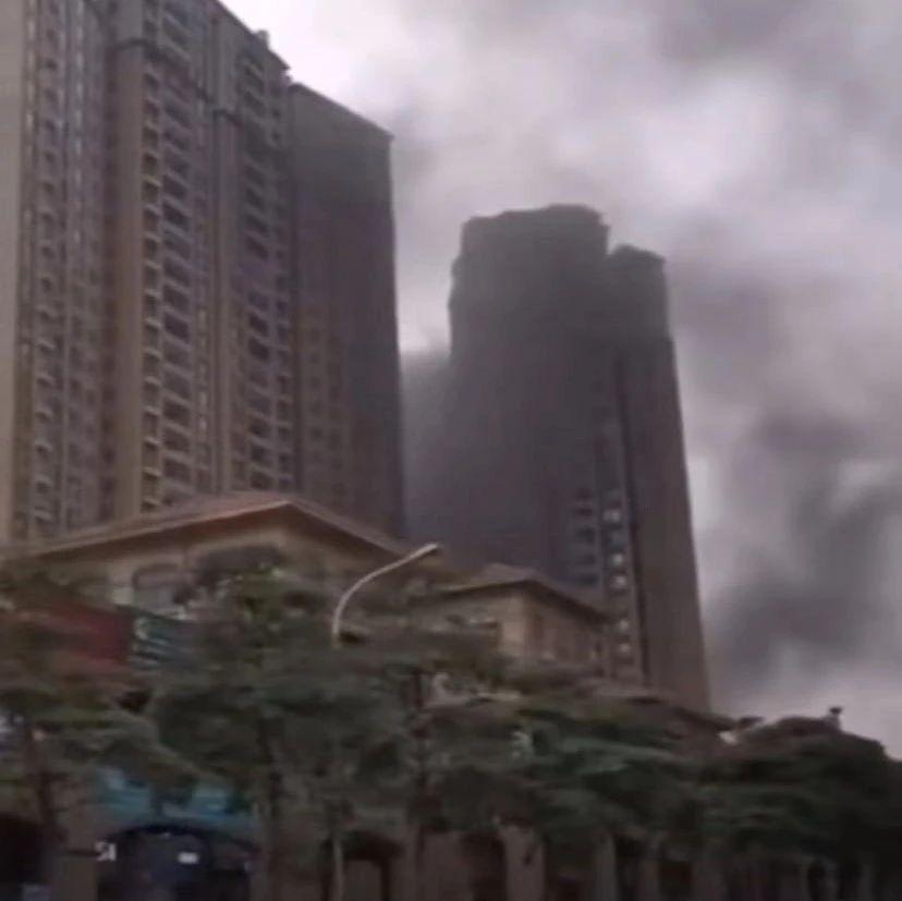 """南宁普罗旺斯小区发生""""火灾"""" ?真相是......"""