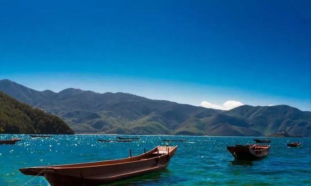 泸沽湖,遇见最美的风景