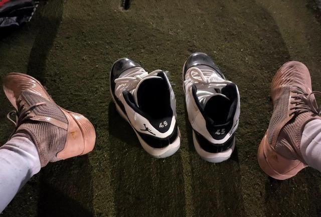 踩在脚底下的性感「男性荷尔蒙之篮球鞋」