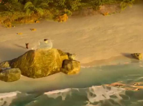 哪吒之魔童降世:三太子出场,1里以内的海面全冻住,帅呆了