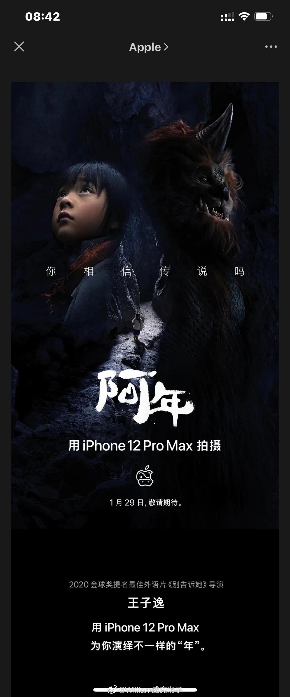 """Apple 用iPhone 12 Pro Max 为你演绎不一样的""""年""""— 阿年"""