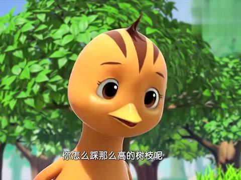 萌鸡小学堂:成长是美好的经历,麦奇是个调皮的,盼望着长高!