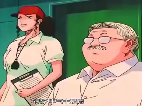 樱木变聪明了,良田三井刺激他,他成功的让对方生气