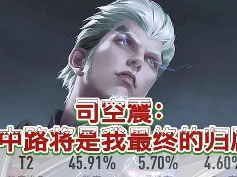 王者荣耀:雷霆之王司空震进阶攻略,成为中路英雄才是最好的归属