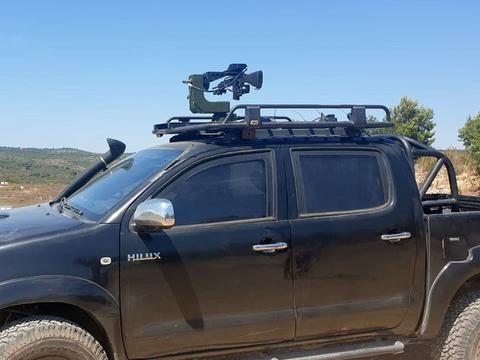 颠覆认知,装甲车辆的战场忠实伙伴,以色列展示了新型遥控武器!
