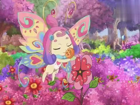 巴啦啦小魔仙:蝴蝶精灵虽然贪吃,实力也很强,大家都被她震惊了