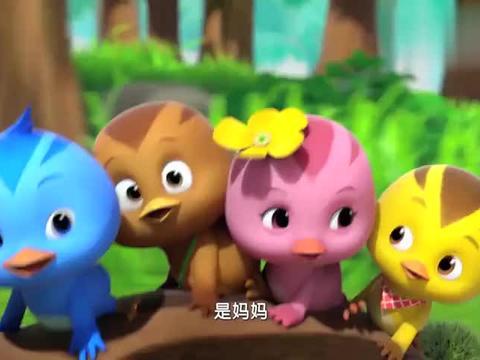 萌鸡小学堂:萌鸡仔集体喊妈妈帮忙,结果还是晚了一步!