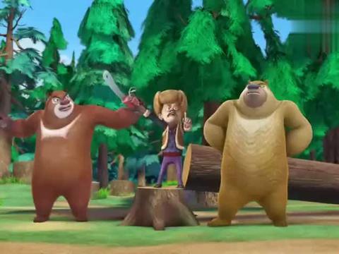 熊出没:光头强就能骗人,熊熊还是笨,还能相信光头强的话