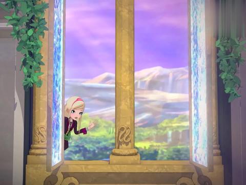 皇家趣学院:暗黑版长发公主,奥黛丝头发都是藤蔓,上面还有剧毒