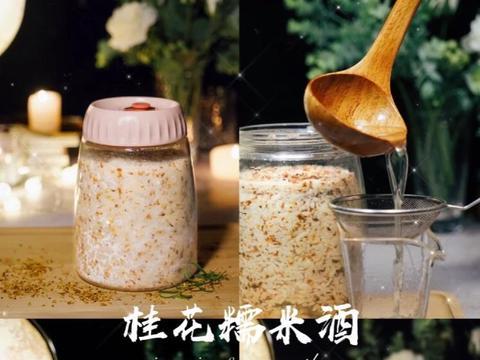 自酿桂花糯米酒教程