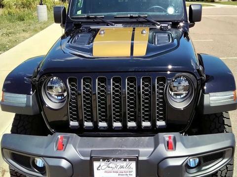 硬派皮卡 越野更强 新款Jeep Gladiator实拍图曝光