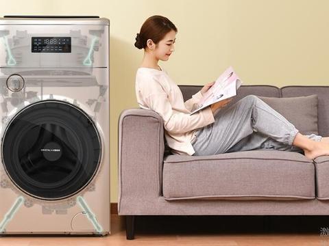 洗衣机市场升级,洗烘一体机市场份额提升