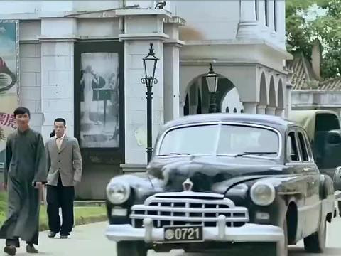 一代枭雄:何辅堂的车队遇到鬼子,兄弟假扮鬼子,给他们放行