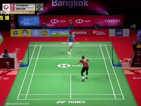 泰国羽毛球赛:安赛龙、马林夺得男女单冠军