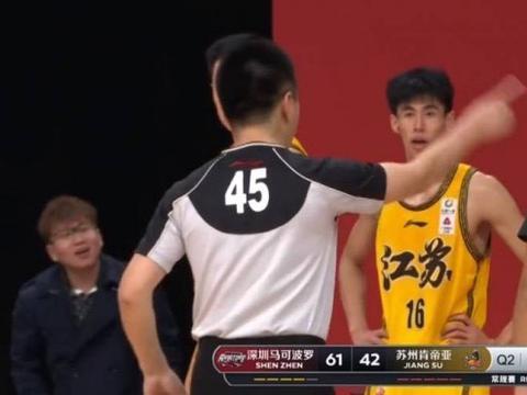江苏替补怒喷裁判,CBA库里诞生,北京或无缘季后赛