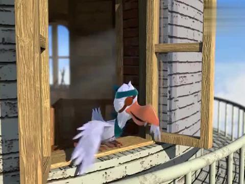 海上丝路:嘴鸥偷走黑珍珠,南珠宝宝机智举动,计划没得逞!