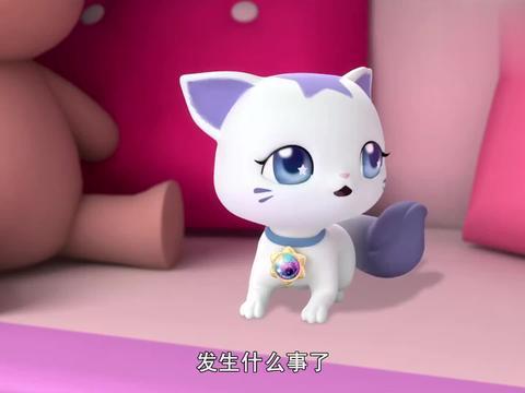 珠珠的秘密:珠珠又出门了,只留下了小猫咪自己,真是太无聊了