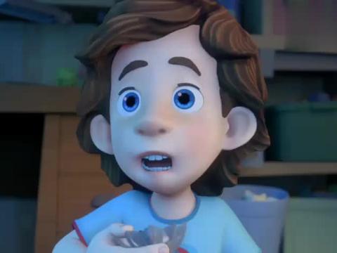 螺丝钉:吉姆一个人看恐怖片,吃东西嘴发抖,吓成这样继续看