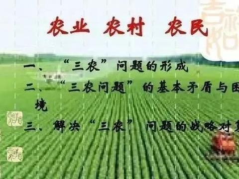 如果农户只管理和收割,国家负责种子、肥料并播种,你愿不愿务农?