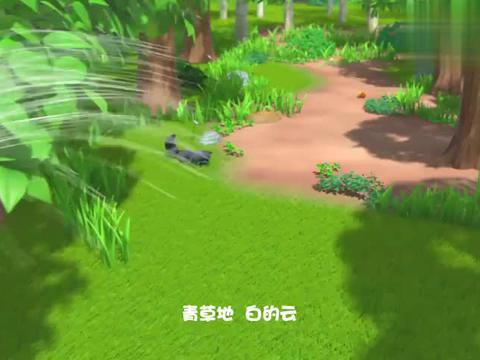 萌鸡小队:骑着蝴蝶穿越花海,飞上蓝天,萌鸡的生活好自在!