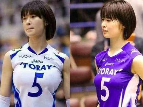中国女排姑娘都是马尾辫,为何日本女排球员都选择短发?