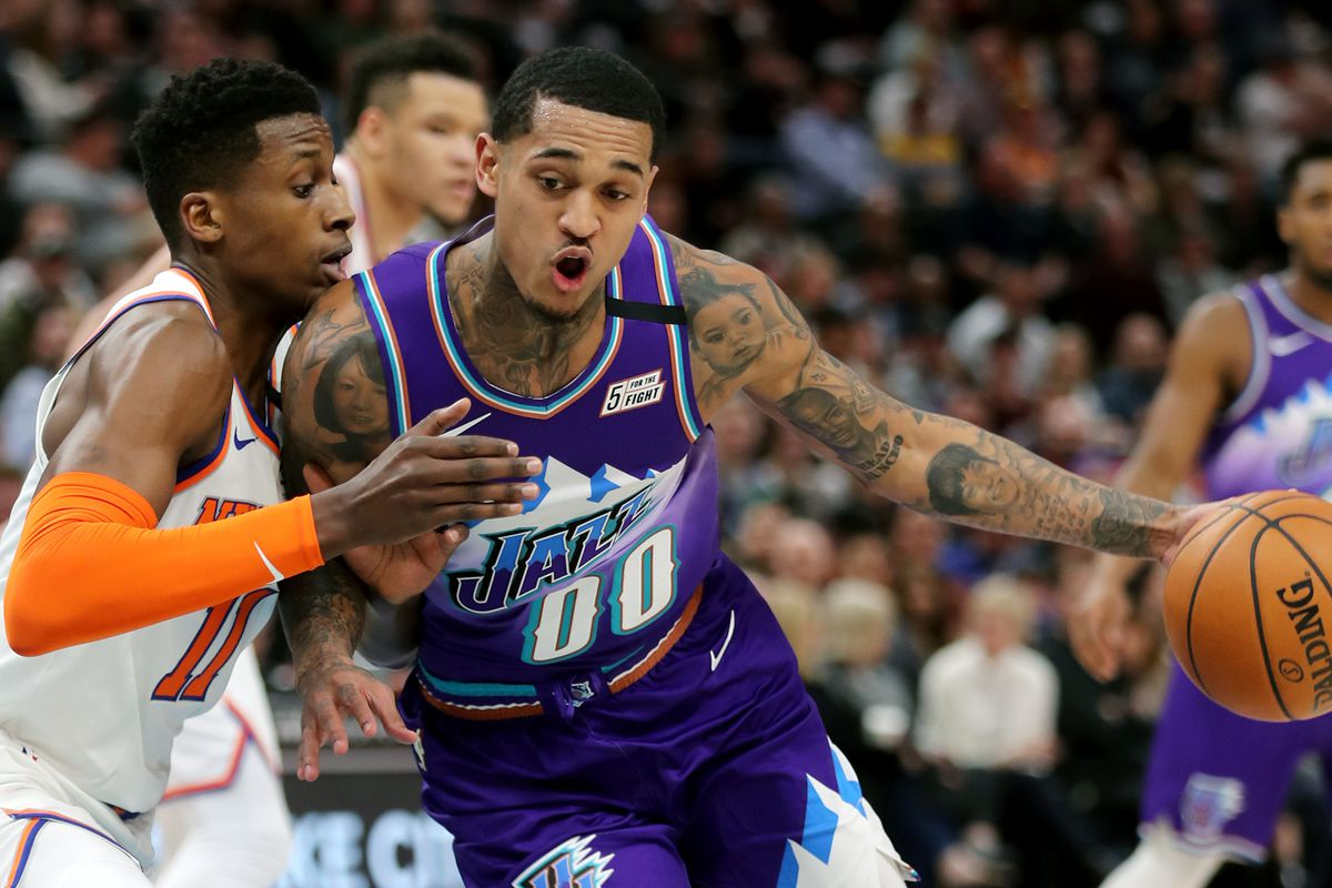 NBA推荐:尼克斯VS爵士!米切尔能否复仇兰德尔?